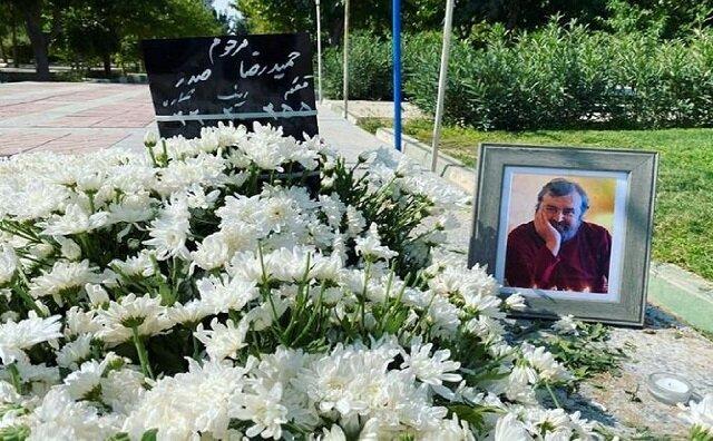 پیکر حمیدرضا صدر در تهران به خاک سپرده شد