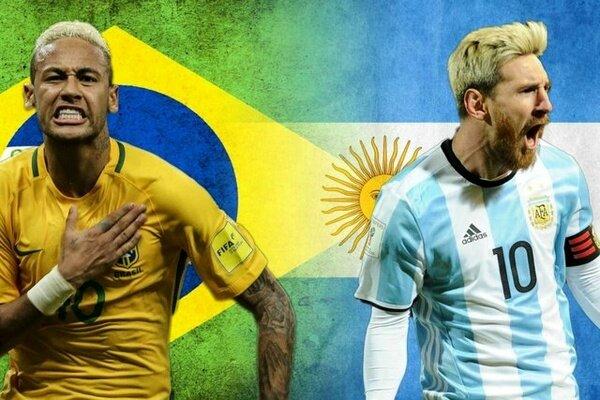 جدال جذاب برزیل و آرژانتین در مقدماتی جام جهانی / مسابقه ناتمام ماند