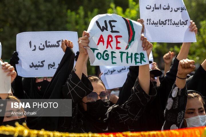 ویدئو | طرفداران طالبان در مشهد و هواداران مسعود در تهران تجمع کردند!