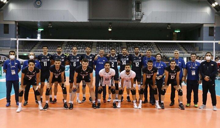برنامه کامل مسابقات والیبال قهرمانی آسیا ۲۰۲۱ ژاپن + جدول و نتایج