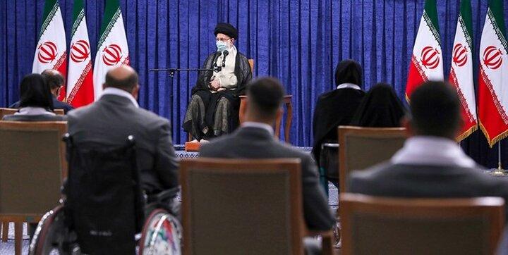 تجلیل رهبر انقلاب از درخشش یک نشان ایرانی پوشاک در المپیک/حجاب اسلامی مانع درخشش در عرصه ورزش نیست
