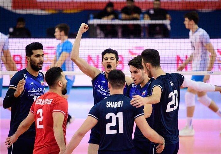 امروز پنجشنبه ۱ مهرماه / والیبال قهرمانی جوانان جهان ۲۰۲۱    ایران - بلژیک