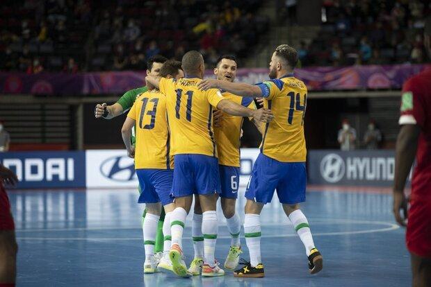 تیمهای صعودکننده روز دوم مرحله حذفی جام جهانی فوتسال ۲۰۲۱ در لیتوانی