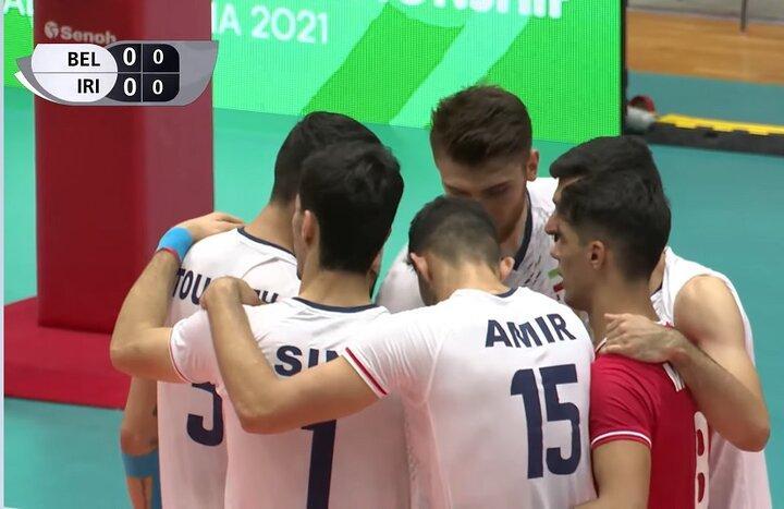 بلژیک ۳ ایران ۲؛مدافع عنوان قهرمانی در یک بازی نزدیک باخت