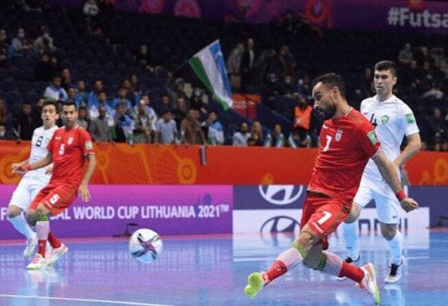 ایران ۹- ازبکستان ۸؛ صعود نفسگیر ایران به جمع ۸ تیم پایانی جام جهانی فوتسال + ویدیو و عکس