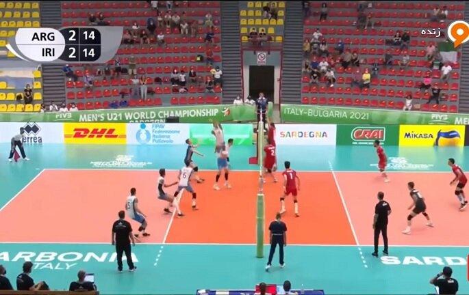 والیبال قهرمانی جوانان جهان ۲۰۲۱ | تکرار شکست جوانان ایران با نتیجه ۲-۳، این بار مقابل آرژانتین
