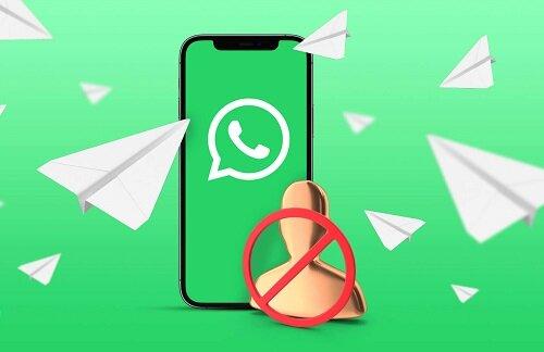 """پیام """"حساب شما موقتاً مسدود است""""، در واتساپ به چه معنی است؟"""