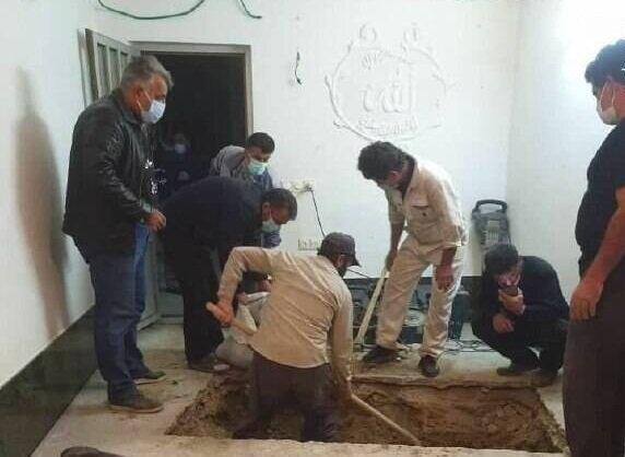 حال و هوای محل تدفین علامه حسنزاده آملی در روستای ایرا + عکس و فیلم