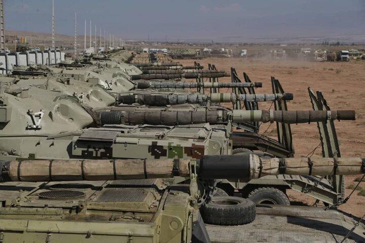رزمایش فاتحان خیبر ارتش در منطقه شمال غرب آغاز شد + تصاویر