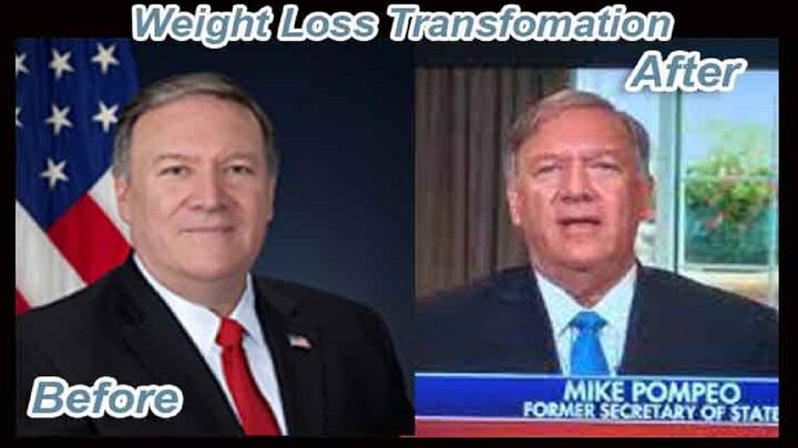 تغییر ظاهر وزیر خارجه ترامپ پس از کاهش وزن ۱۷ کیلویی+تصاویر
