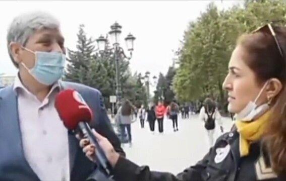 پاسخ زیبای شهروند جمهوری آذربایجان به سوالی درباره ایران + ویدیو