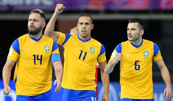 ردهبندی جام جهانی فوتسال ۲۰۲۱ / قزاقستان ۲ - برزیل ۴