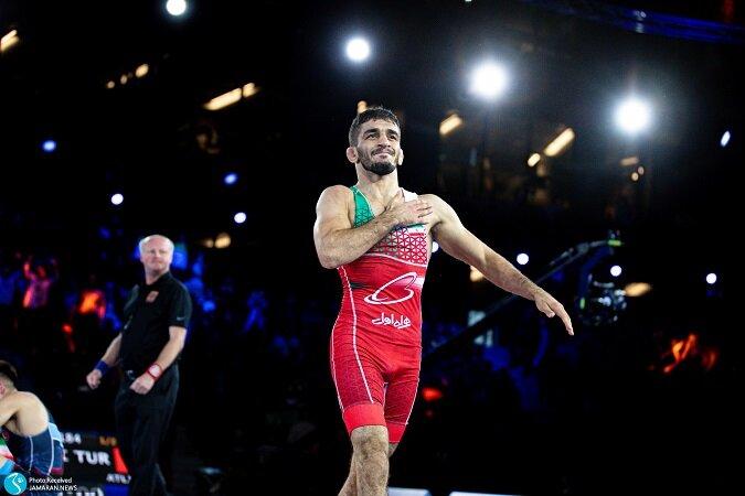 علیرضا سرلک به مدال نقره بسنده کرد/ کسب مدال سبک وزن پس از ۶ سال + ویدیو