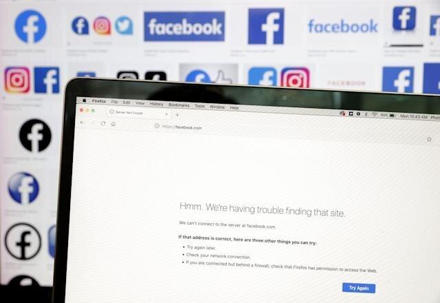 هرساعت قطعی فیسبوک، اینستاگرام و واتس اپ ۱۶۰ میلیارد دلار آب می خورد!