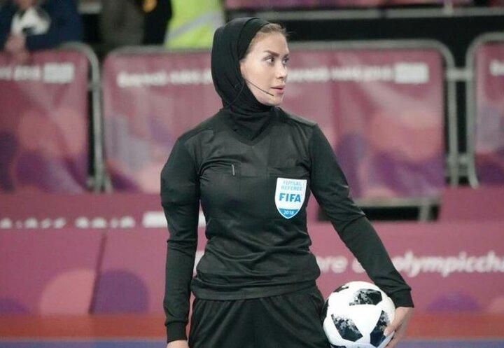 داور زن ایرانی در بازگشت از جام جهانی فوتسال در فرودگاه غافلگیر شد + ویدیو
