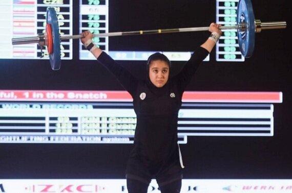 دختر ایرانی در دو ضرب به مدال برنز رسید